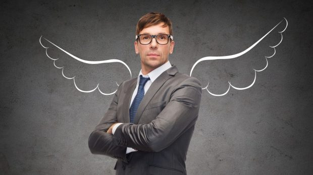 the size of angel investments