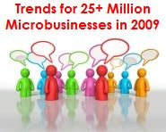 Microbusiness trends for 2009