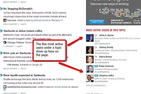 BusinessExchange active users