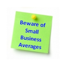 Beware of Small Business Averages