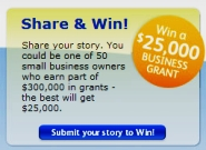 Small Business United - win a grant for your small business