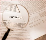 Subcontractors - small businesses require contracts