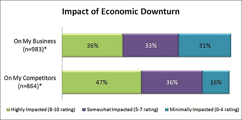 Network Solutions small Business Survey - impact of economic downturn