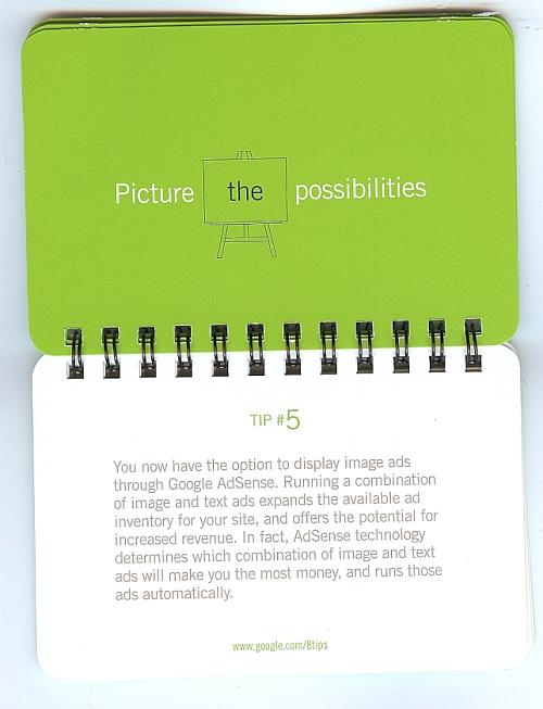 Google Tweak Your Way book - tip