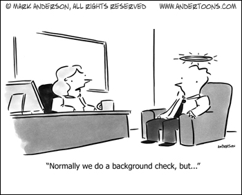 When a Background Check Is Not Needed …