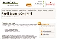 SurePayroll Small Business Scorecard