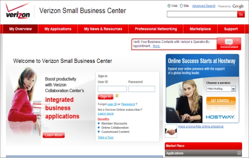 Verizon Launches New Small Business Center - Small Business Trends