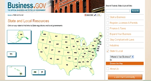 State and local business resources
