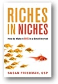 how to get rich by finding a niche in your small business