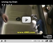 Unclog my drain video for contest