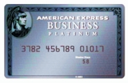 Platinum charge card
