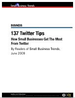 137 Small Business Twitter Tips