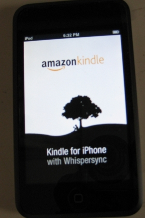 Kindle for iPhone with Whispersync