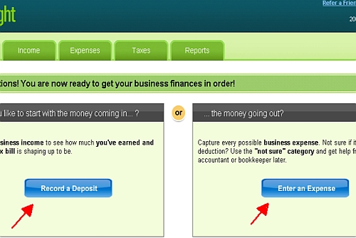Outright: Simple Online Bookkeeping for Sole Proprietors