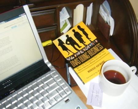 Divas Doing Business - a book to savor over coffee