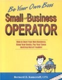 Small Business Operator – A Manual for Tax Deductions and Bookkeeping