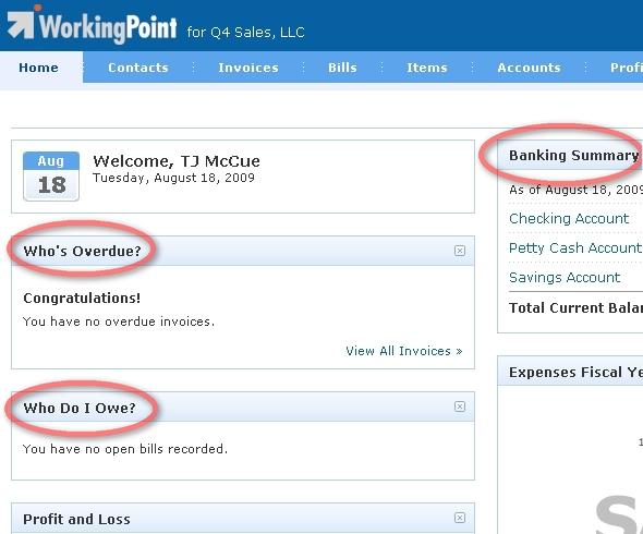 WorkingPoint dashboard 2