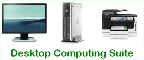 HP desktop computing suite