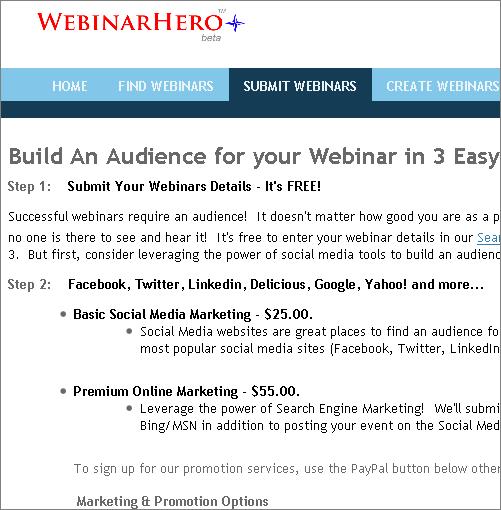 webinarhero submit page