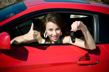 Woman car buyer
