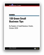 100 green small business tips