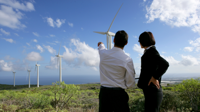 Sustainability practices - wind energy