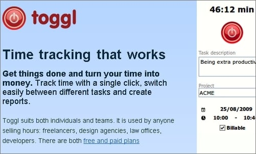 Toggl-Time-Tracking