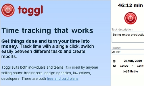 Toggl Time Tracking Toggl: Time Tracking Made Easy