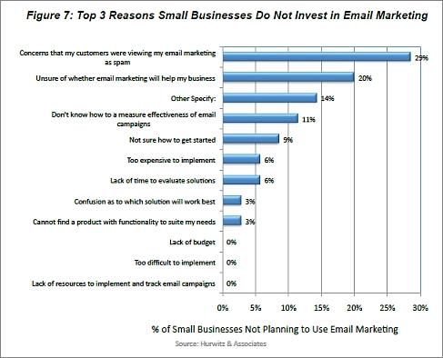 Email Marketing in Small Businesses: Adoption, Budget, and Challenges