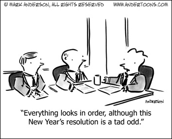 Make a Contract with Yourself for New Year's Resolutions