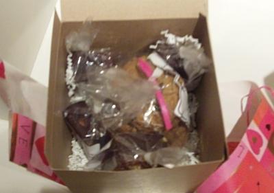 Wow! Cookies!  Open box