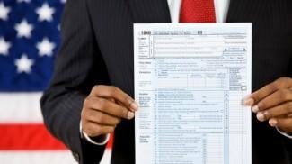 president taxes