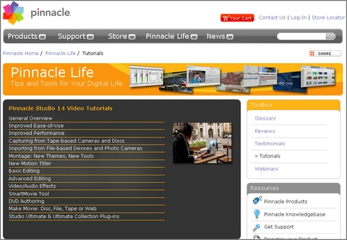 Small Business Video Editing: Pinnacle Studio 14 Review