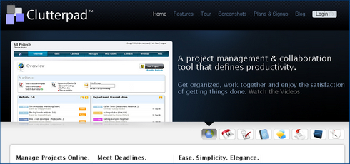 Review of Clutterpad: Small Business Project Collaboration