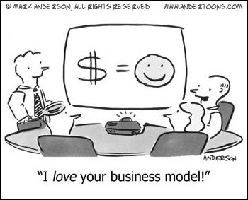Business Model: Money Equals Happy