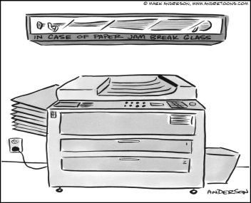 Office Copiers and Paper Jams