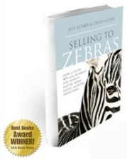 selling to zebras