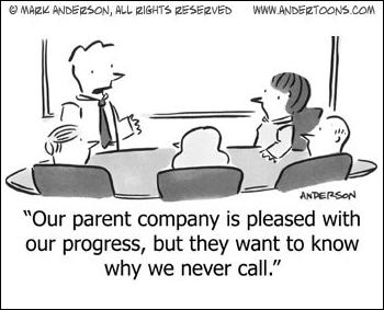 Parent Company Calls