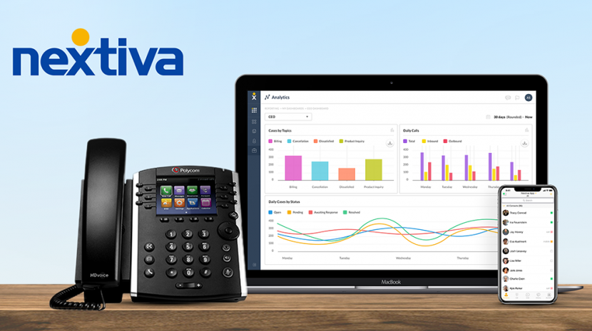 Nextiva-small-business-phone-service-system