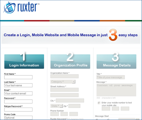 free mobile website