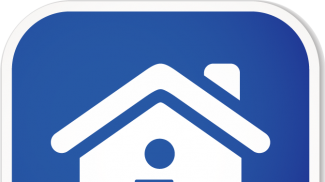 home info sq sticker