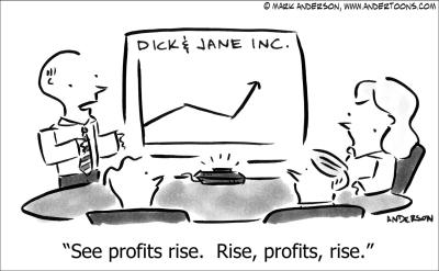 See Profits Rise