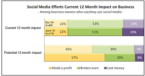 Small Businesses Expect Social Media Usage to Become Profitable