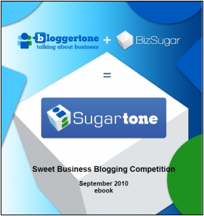 SugarTone Sweet Blogging Contest ebook
