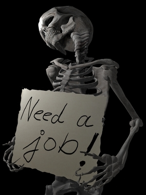Unemployment Skeleton
