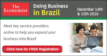 The Economist Hosts Online Fair for Doing Business in Brazil