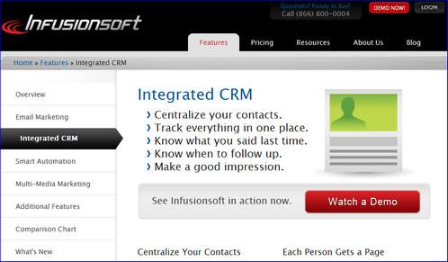 infusionsoft crm