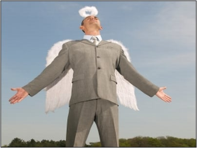Look Up in the Sky: It's a Super Angel