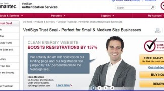 Verisign Trust Seal for Small Business