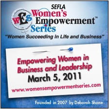Women's Business and Leadership Conference Event
